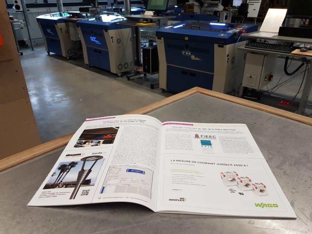 Magazine à l'usine